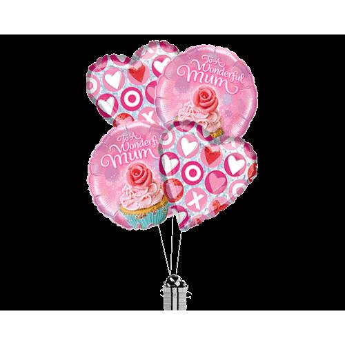 Wonderful Mum Cupcakes and Kisses