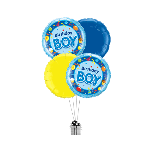 Blue Birthday Boy Party