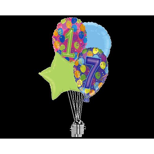 17th Balloon Birthday