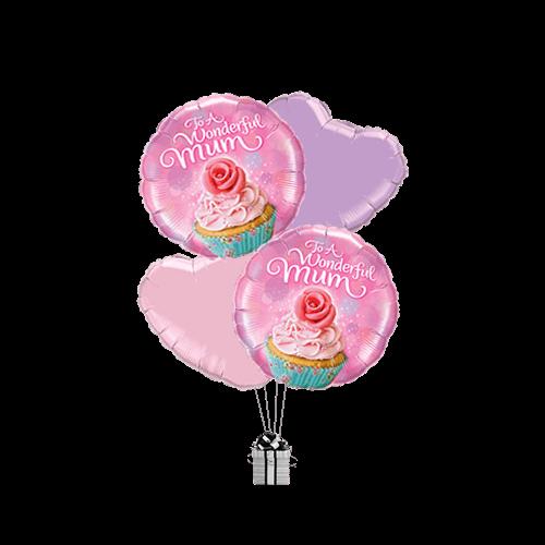 To A Wonderful Mum Cupcake