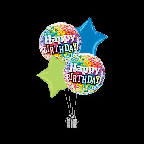 Confetti Colourful Birthday