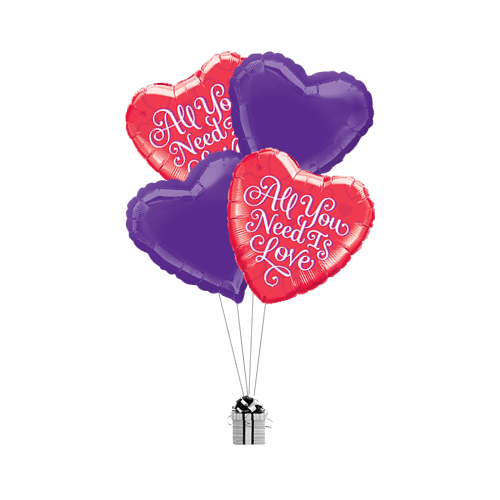 All You Need Is Love Purple Hearts