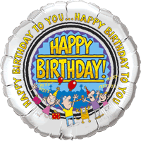 Happy Birthday To You Party Balloon