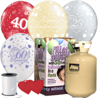 Anniversary Latex Balloon Pack