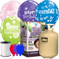 Birthday Latex Balloon Party Pack