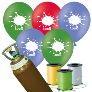 1000 Printed Latex Balloon Pack
