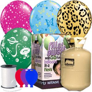 General Decorative Latex Balloon Party Pack Product Display