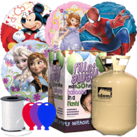 TV & Film Character Foil Party Pack