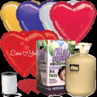 Romance & Love Themed Foil Balloon Pack