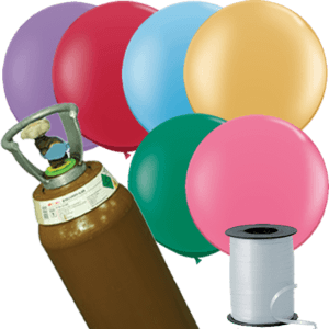8x 3ft Latex Balloon Pack