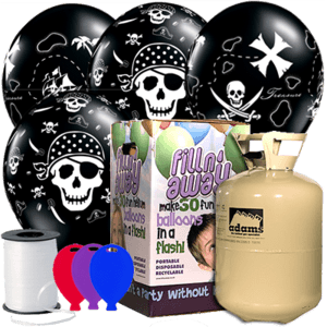 Pirate Latex Balloon Party Pack Product Display