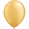 "11"" Custom Printed Luxury Pearl Gold Latex Balloons overview"