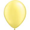 "11"" Custom Printed Luxury Pearl Lemon Chiffon Latex Balloons overview"