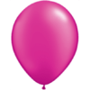 "11"" Custom Printed Luxury Pearl Magenta Latex Balloons overview"