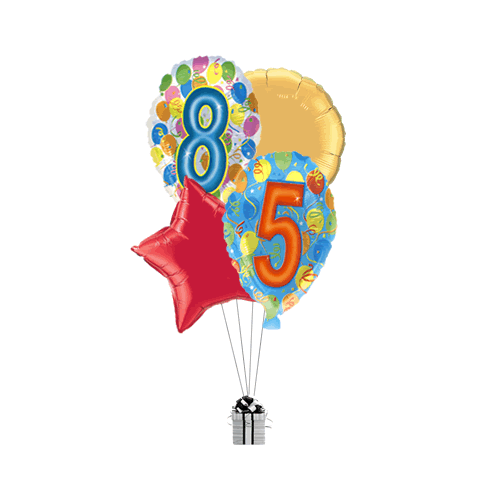 85th Balloon Birthday