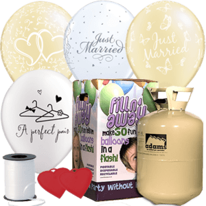 Wedding Latex Balloon Pack Product Display